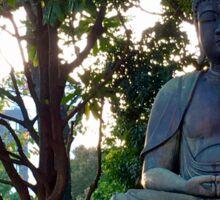 Statue of Buddha in Japan Sticker