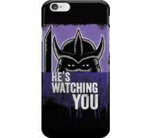 Shredder is Watching iPhone Case/Skin