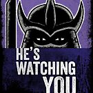 Shredder is Watching by vonplatypus