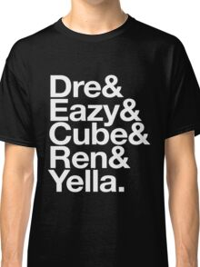 Straight Outta Helvetica Classic T-Shirt