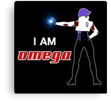 I am Omega Canvas Print