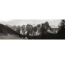 "The ""Seven Sisters"" Mountain Range, Banff, 1974 Photographic Print"