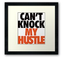 Can't Knock My Hustle - Giants Framed Print