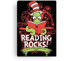 READ ACROSS AMERICA DAY - MARCH 2, 2016 Canvas Print