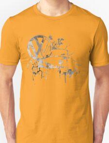 Volkswagen Beetle Splash BW © T-Shirt