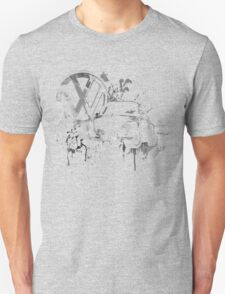 Volkswagen Beetle Splash BW © T-Shirt