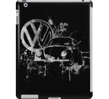 Volkswagen Beetle Splash BW © iPad Case/Skin