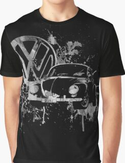 Volkswagen Beetle Splash BW © Graphic T-Shirt