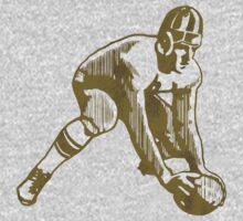 Football Player One Piece - Short Sleeve