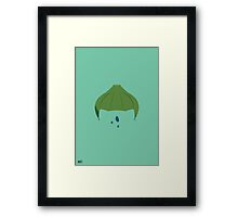 #01 The Seed Of Power Framed Print