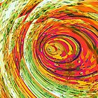 Fluorescent Wormhole by Shawna Rowe