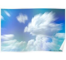 Abstract Clouds Poster