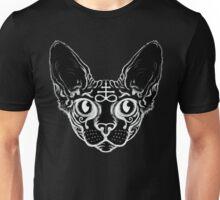 Sphinx black cat Unisex T-Shirt