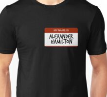 Hamilton Nametag 1 Unisex T-Shirt