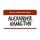 Hamilton Nametag 2 by uncured