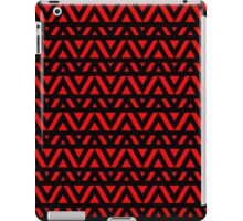 Triangle Detail in Red iPad Case/Skin