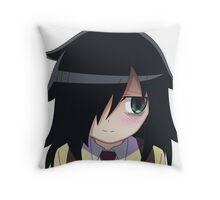 Watamote - Tomoko Throw Pillow