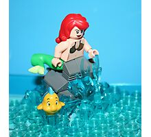 Lego Mermaid Photographic Print