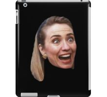 Hillary Clinton Surprise (black) iPad Case/Skin