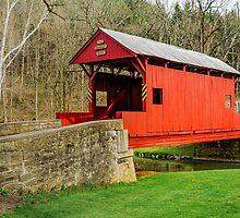 The Ebenezer Covered Bridge 2 by Zigzagmtart