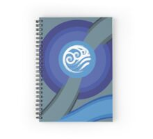 Avatar - Water Spiral Notebook