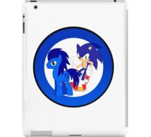 Sonic The Hedgehog & Sonic The Earthpony iPad Case/Skin