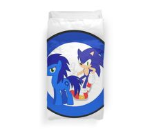 Sonic The Hedgehog & Sonic The Earthpony Duvet Cover