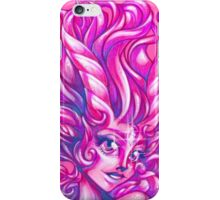Sparkly Space Goat Girl iPhone Case/Skin