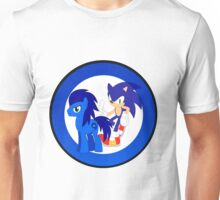 Sonic The Hedgehog & Sonic The Earthpony Unisex T-Shirt