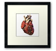 vampire heart Framed Print
