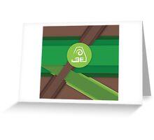 Avatar - Earth Greeting Card