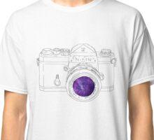 Vintage Galaxy Camera Art Classic T-Shirt