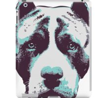 Blue Pit Bull  iPad Case/Skin
