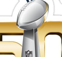 Denver Broncos Super Bowl 50 Champions Sticker