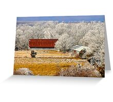 Country Charm ~  Greeting Card