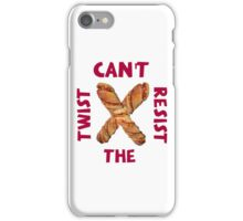 Can't resist the twist! iPhone Case/Skin
