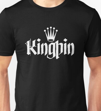 Kingpin - White Unisex T-Shirt