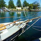 *Bow of large sailing Vessel - Port Fairy, Vic. Aust.* by EdsMum