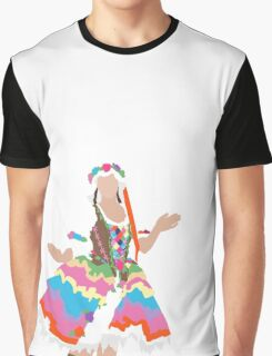 Floral Maiden Graphic T-Shirt