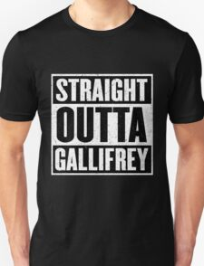 Straight Outta Gallifrey - The Time Lord's in the Hood - Movie Mashup - Geek Humor - Syfy - Doctor Who Mashup T-Shirt