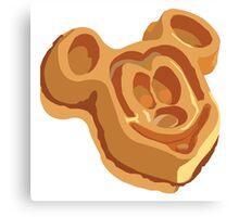 Mickey Waffle! Canvas Print