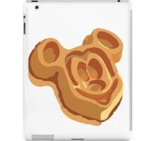 Mickey Waffle! iPad Case/Skin