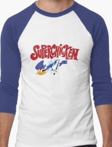 Super Chicken Men's Baseball ¾ T-Shirt