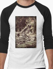 Spaceman Men's Baseball ¾ T-Shirt
