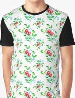 Tulips Color Graphic T-Shirt