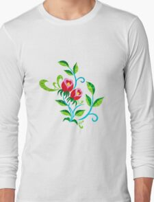 Tulips Color Long Sleeve T-Shirt