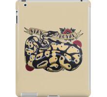 """Stay Royal Ball Python"" iPad Case/Skin"