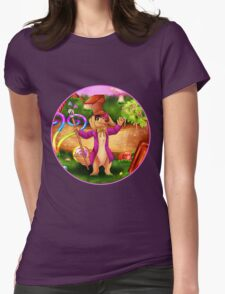 Welcome to Candyland! Womens Fitted T-Shirt