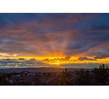 Pretty Skies Photographic Print