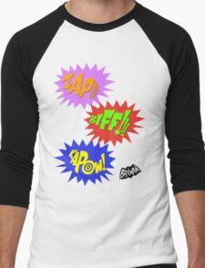 Zap!!! Biff!!! Kapow! Men's Baseball ¾ T-Shirt